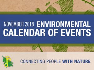 Environmental Calendar for November 2018