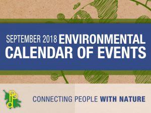 Environmental Calendar for September 2018