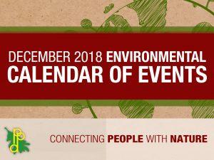 Environmental Calendar for December 2018