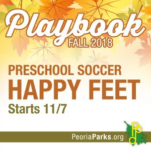 Happy Feet Soccer for Ages 2-5 years @ Noble Center | Peoria | Illinois | United States