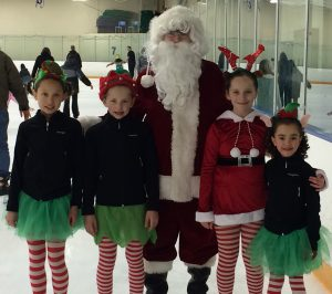 Skate with Santa @ Owens Center | Peoria | Illinois | United States